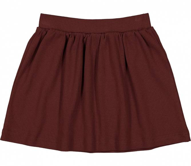 Bilde av Skirt - Modal dark ruby
