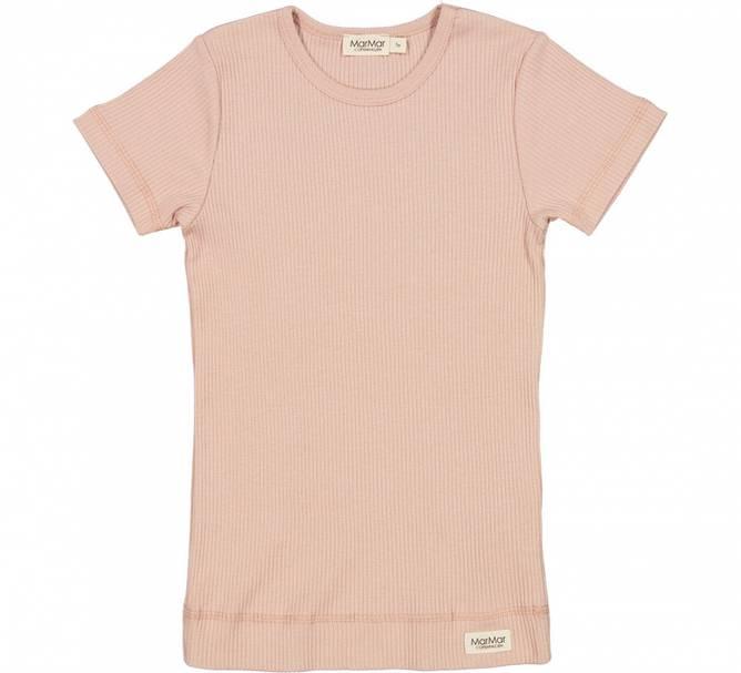 Bilde av Plain modal t shirt LIGHT CHEEk