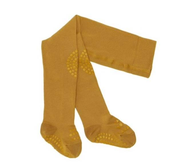 Bilde av Antiskli strømpebukse mustard