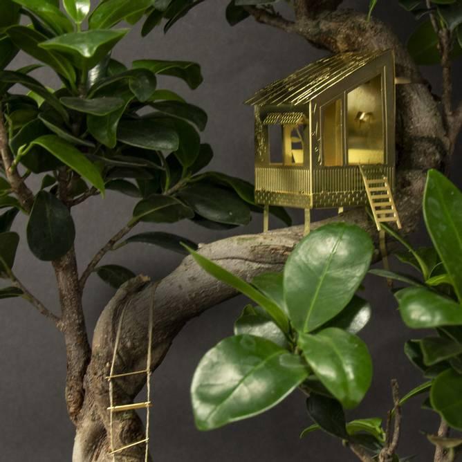 Bilde av Tiny Treehouse for your plants