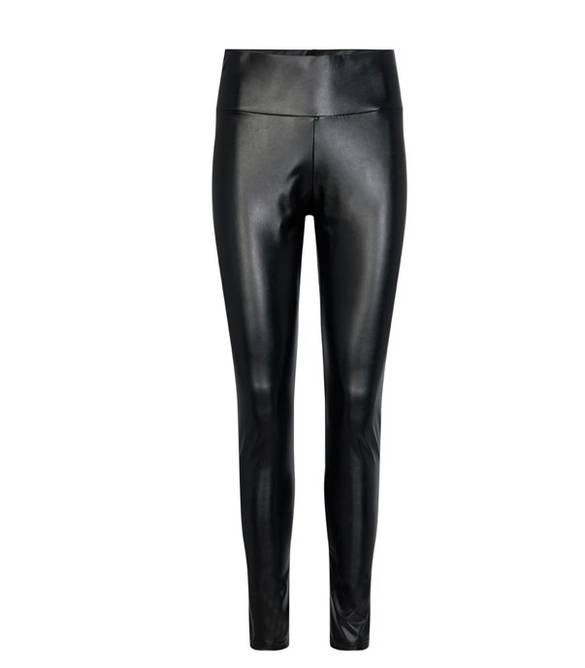 Bilde av Nita PU leggings black