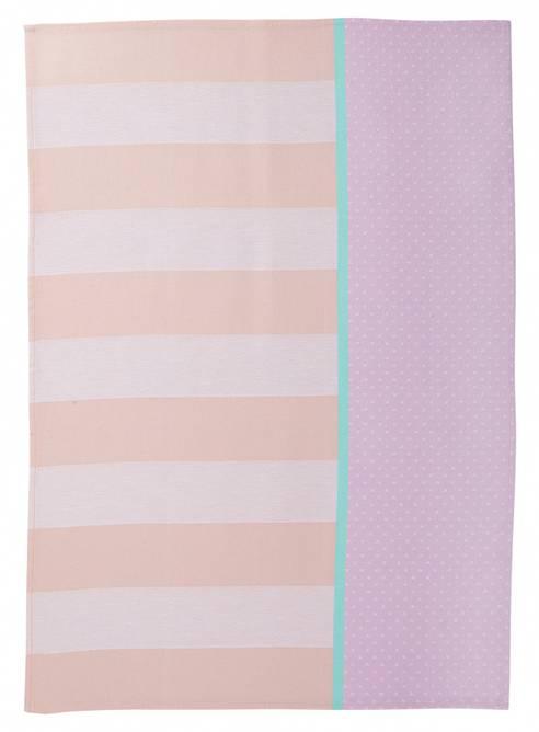 Bilde av ME Tea Towel pink.orange.white
